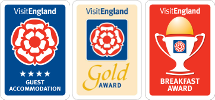 enjoyEngland 4 Star Gold Award